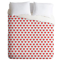 Allyson Johnson Hey Sweetheart Duvet Cover
