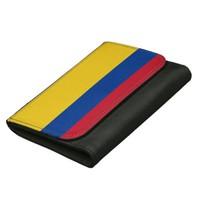Colombian flag wallet