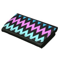 Zigzag #12 - Black Wallet