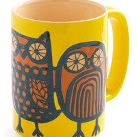 Owl Ready to Go Mug in Yellow | Mod Retro Vintage Kitchen | ModCloth.com