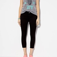HIGH-RISE JEGGING CROP