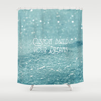 Custom Dreams Shower Curtain by Alice Gosling