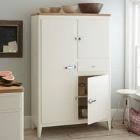 Cabin Kitchen Armoire - White