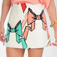 JUDITH MARCH: Pretty In Bows Skirt