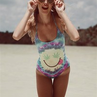 Wildfox Swim Mr. Nice Guy One Piece Suit in Multicolored - Boutique To You