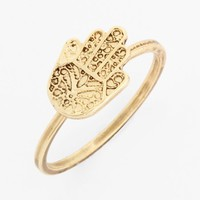 Stephan & Co. 'Hamsa' Midi Ring (Juniors) | Nordstrom