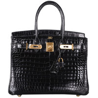 TREAT YOURSELF HERMES BIRKIN BAG 30cm CROCODILE POROSUS EXLUSIVE DEAL!