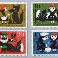 Present&Correct - Red Riding Hood Stamps