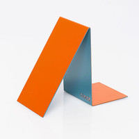Book End, Orange And Blue