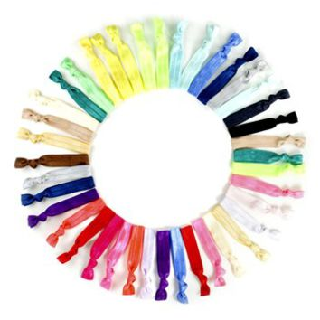 Kitsch Ponytail Holders (50-pack) (Girls) | Nordstrom
