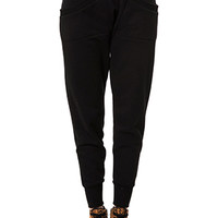 DROP CROTCH WOMEN'S PREMIUM FLEECE JOGGERS