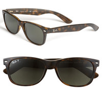 Ray-Ban 'New Wayfarer' 55mm Polarized Sunglasses | Nordstrom