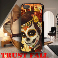dia de los muertos for iPhone 4, iPhone 4s, iPhone 5 /5s/5c, Samsung Galaxy S3, Samsung Galaxy S4 Case