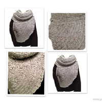 Huntress Crossbody Knit Vest Knit Pattern, Archer Sweater Cross Body Wrap Woman Vest Sleveless Sweater