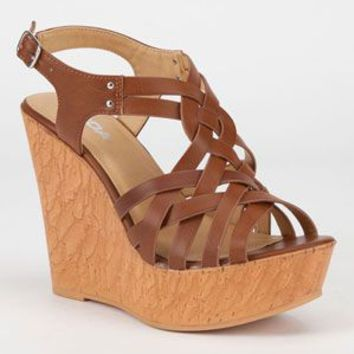 SODA Rexana Womens Wedges