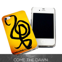 Hakuna Matata for iPhone 4, iPhone 4s, iPhone 5 /5s/5c, Samsung Galaxy S3, Samsung Galaxy S4 Case