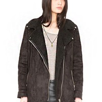 Prana Shearling coat