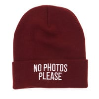 Young & Reckless No Photos Beanie at PacSun.com