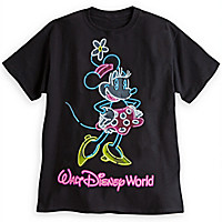 Minnie Mouse Neon Tee for Adults - Walt Disney World