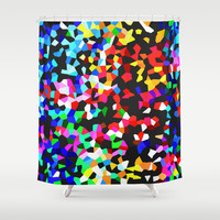 CRYSTALLISED Shower Curtain by Catspaws