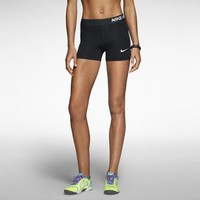 "The Nike 3"" Pro Core Compression Women's Shorts."