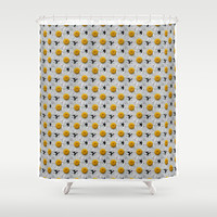 DAISY CHAINS Shower Curtain by Catspaws