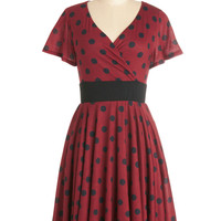 Feeling Footloose Dress in Red | Mod Retro Vintage Dresses | ModCloth.com