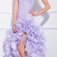 2014 Prom Dresses - Lilac One Shoulder Sequin Gown