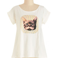 Just Like Cat Tee | Mod Retro Vintage T-Shirts | ModCloth.com