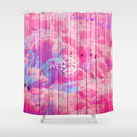Find the Clouds Shower Curtain by Girly Trend