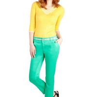 New Slack Swing Pants in Jade Green | Mod Retro Vintage Pants