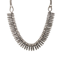 Natalie B Jewelry Rani Necklace in Silver