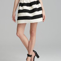 Alythea Skirt - Striped Full