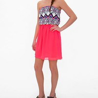 Daytrip Neon Tube Top Dress