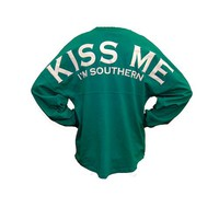 Palmetto Moon | Kiss Me I'm Southern Long Sleeve Spirit Jersey
