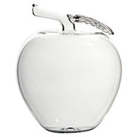 "6"" Glass Apple Objet"