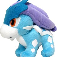 Pokemon Plush Suicune Doll Around 18cm 7""