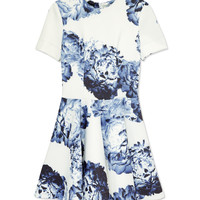 Lover Bloom Scuba Dress - Printed Dress - ShopBAZAAR