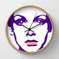 TWIGGY-67 Wall Clock by The Griffin Passant