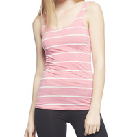 Striped Double Scoop Tank | Wet Seal