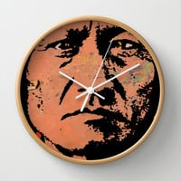 SITTING BULL-2 Wall Clock by The Griffin Passant