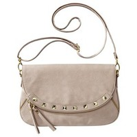 Xhilaration® Studded Crossbody Handbag - Beige