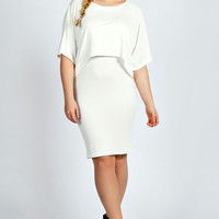 Daisy Double Layer T-Shirt Dress