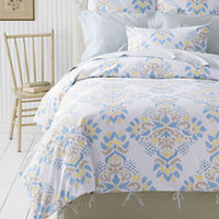 Reversible Print Oxford Duvet Cover or Sham from Lands' End