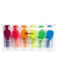 Paperchase Mini Highlighter Pen Pack