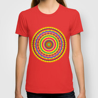 Batik Bullseye T-shirt by Peter Gross