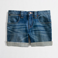 Factory denim roll-up short - denim - FactoryWomen's Shorts - J.Crew Factory