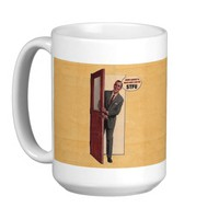 Retro How About A Nice Hot Cup Of STFU Mug 15oz