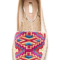 Frederica Embroidered Espadrilles