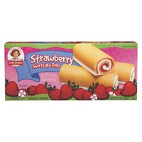 Little Debbie Strawberry Shortcake Rolls 6 ct